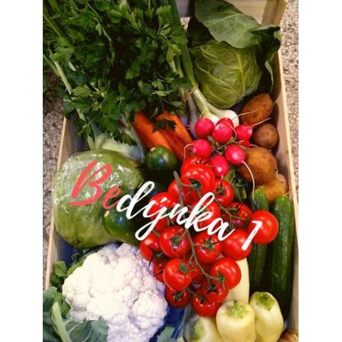 Bedýnka 1 zeleninová