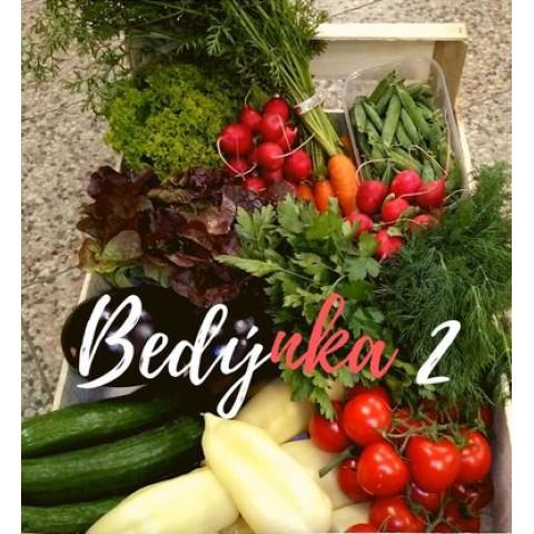 Bedýnka 2 zeleninová