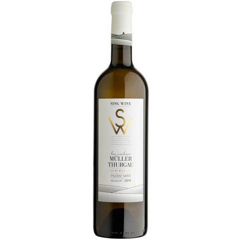Bílé víno Müller Thurgau 0,75 l 2019