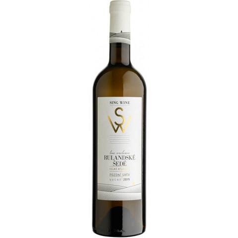 Bílé víno Rulandské šedé 0,75 l 2020