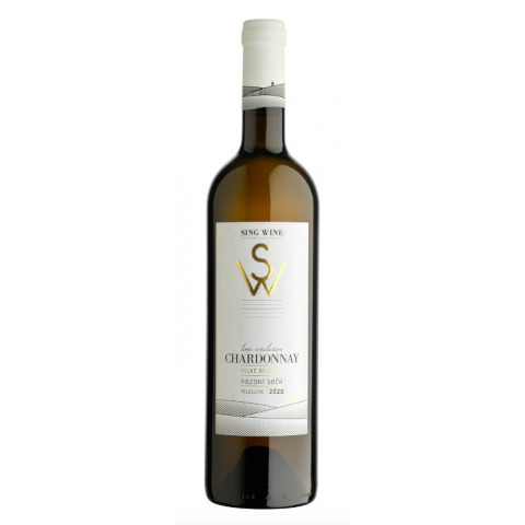 Bílé víno Chardonnay 0,75 l 2020