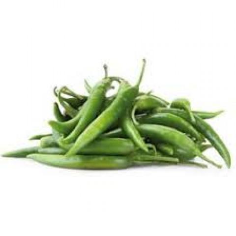 Paprika chilli zelená Španělsko kg