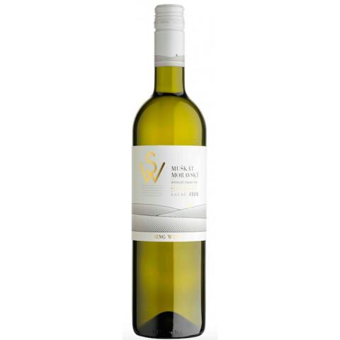 Bílé víno Muškát Moravský 2020 0,75 l