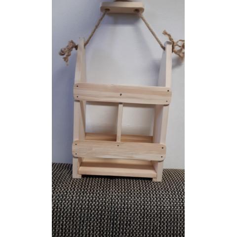 Odnosný dřevěný dvouset