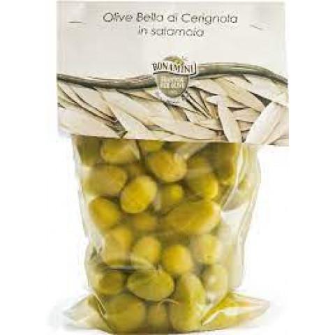 Olive Bella di Cerignola 500 g Itálie