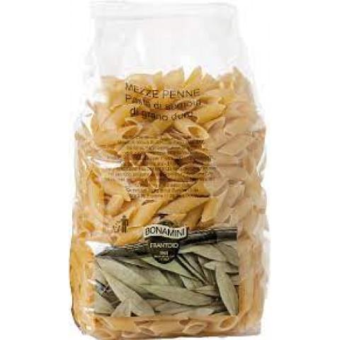 Mezze penne - pasta di semola di grano duro 500 g Itálie